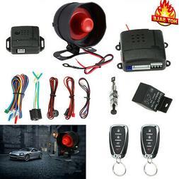 Universal Car Security System Alarm Anti-theft Protector + 2