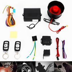 1-Way Car Vehicle Security System Burglar Alarm Protection A