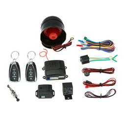Universal Car Security System Alarm Anti-theft Protector + 2