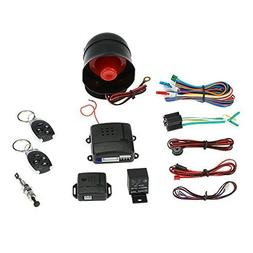 KKmoon Universal Car Vehicle Security System Burglar Alarm P