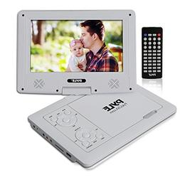 """Upgraded 2017 Pyle 9"""" Portable Travel  DVD Player, Use as Ca"""