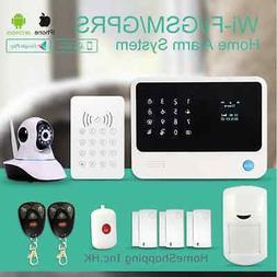 USA WiFi Wireless GSM Autodial Home Security Burglar Alarm S