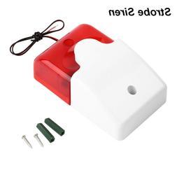 Useful Flash Light Home Security Strobe Siren Alarm System W