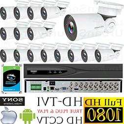 USG Business Grade 16 Camera Security System : PTZ Pan Tilt