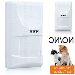 USG Wired Motion Detector Alarm Motion Sensor : Pet Immune U