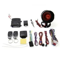uxcell 1-Way Car Vehicle Burglar Alarm System Keyless Entry
