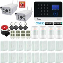 H88 WiFi GSM APP RFID Wireless Home Security Alarm System+2