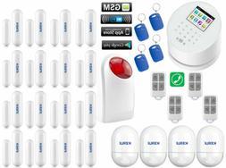 Q73 KERUI APP WiFi GPRS IP GSM PSTN RFID Wireless Home Secur