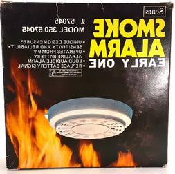 vintage smoke alarm w early one system