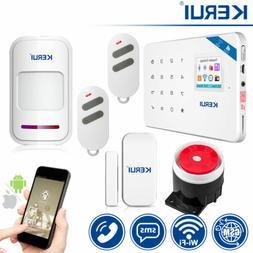 KERUI W18 GSM SMS Wireless Home Burglar Alarm Security Syste