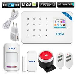 KERUI W18 GSM SMS Wireless Home Burglar Alarm Security Syste