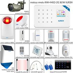KERUI W18 WIFI GSM Home Burglar Security Alarm System Wirele