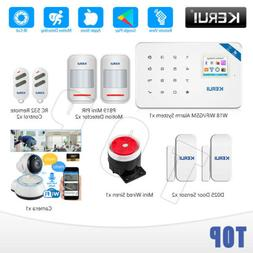 KERUI W18 Wireless WiFi GSM APP Control IP Camera Alarm Syst