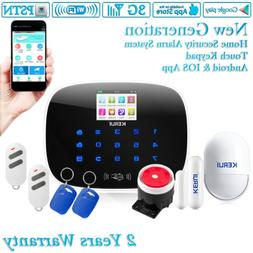 W193 KERUI 3G WIFI Siren PSTN Home Security Alarm System Acc