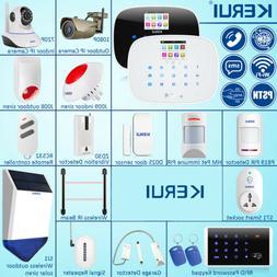 KERUI W193 WiFi 3G PSTN Smart Home Security Burglar Alarm Sy
