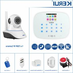 KERUI W193 Wireless 3G WIFI GSM PSTN Touch Keypad Smart Home