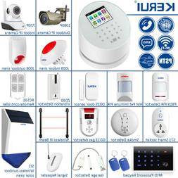 KERUI W2 WiFi GSM PSTN SMS RFID Wireless Security Alarm Syst