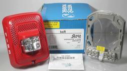 System Sensor Wall Speaker / Strobe Fire Alert Station SPSRL
