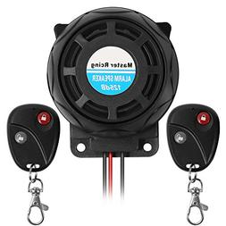 Rupse Waterproof Motorcycle Remote Control Alarm Warner Anti
