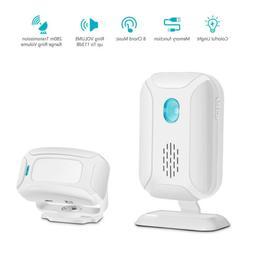 Welcome Chime DoorBell Motion Sensor Wireless Alarm Door Bel