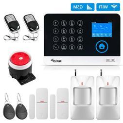 WG11 WIFI GSM Wireless Home Business Burglar Security Alarm