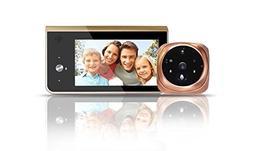 Wifi Video Doorbell, 720P HD Camera with 2pcs IR Night Versi