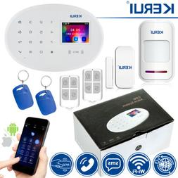KERUI WiFi GSM SMS Home Security Alarm System+RFID Access Bu