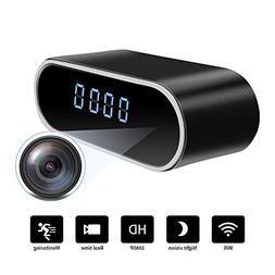 WiFi Hidden Spy Camera Clock |Full HD 1080P|Tiny Wireless Re