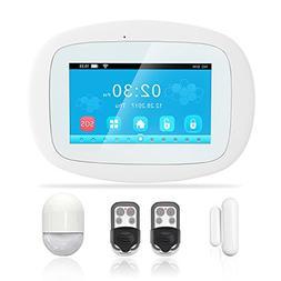 BIBENE WIFI Home Security Alarm System DIY Kit Burglar Alarm