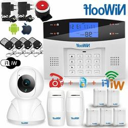 Wifi PSTN GSM Alarm System Compatible With 433MHz Wireless /