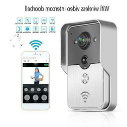 WiFi Smart Video Wireless Door Bell IR Camera Record Securit