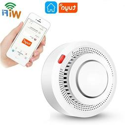WiFi Smoke Alarm Fire Protection Smokehouse Smart Alarm Home