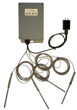 WiFi Wireless Multiple  K-Type Sensor -100°C To 1250°C Ale