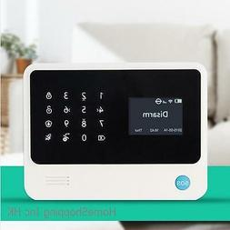 WIFI Wireless/Wired GSM SMS Autodial Home Security Alarm Sys