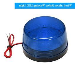 OWSOO Wired Alarm Strobe Signal Safety Warning LED Light Fla