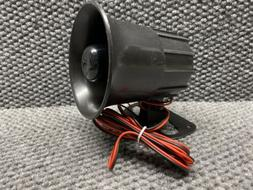 Wired Loud Alarm Siren Horn Home Security Automotive Protect