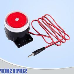 KERUI Wired Loud Siren Accessories Lot for Home Burglar Secu