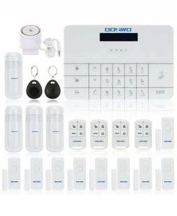 OWSOO Wired/WiFi LCD Touch Keypad Home House Alarm Burglar S