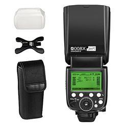 PIXEL Wireless 1/8000s Flash Speedlite i-TTL/TTL Speedlight