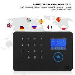 Wireless 3G/GSM+GPRS WiFi Video Alarm Smart Home Security Al