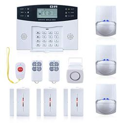 wireless burglar alarm system gsm
