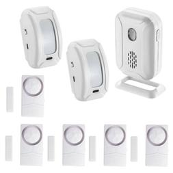 Wireless Burglar Alarm Systems Kit Smart Home Office Securit