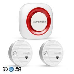 Wireless Fire Alarm System Smart Standalone Smoke Detector A