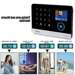 Wireless GSM+GPRS+WIFI Smart Video Alarm Home Burglar Securi