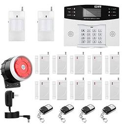 wireless home office security system