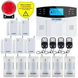 Wireless Home Security Gsm Alarm System Intercom Remote Cont