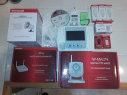 Honeywell wireless home security system home alarm system