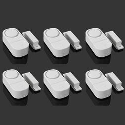 6X WIRELESS Home Window Door Burglar Security ALARM System M