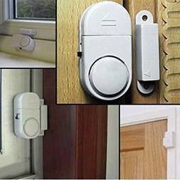 WIRELESS Home Window Door Burglar Security ALARM System Magn