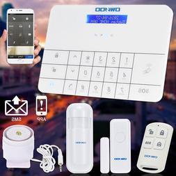 OWSOO Wireless LCD Door PIR Motion Sensor Home Security Alar